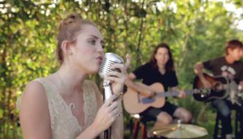 Miley Cyrus And Her Happy Hippie Backyard Sessions Joan Jett Laura Jane Grace Melanie Safka Ariana Grande Beauty Within
