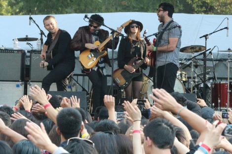Summerlands Festival 2014 with Relient K, Kina Grannis and Milo Greene.