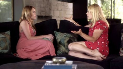 Miley Cyrus on The Conversation with Amanda De Cadenet (Season 1, Episode 4 - July 4, 2013)