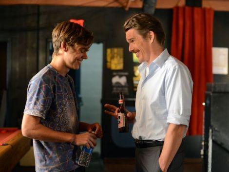 """Ellar Coltrane as Mason and Ethan Hawke as Dad in """"Boyhood."""" IFC Films."""