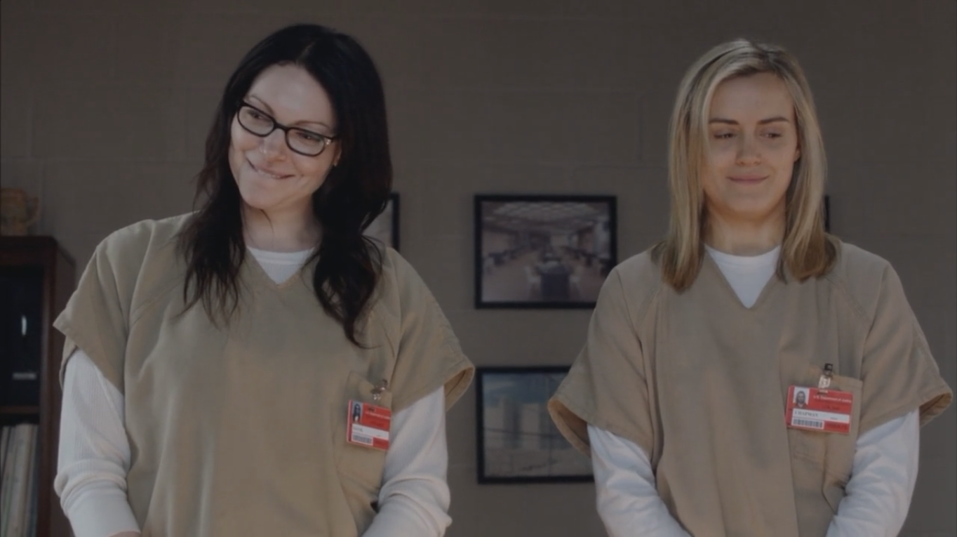 orange is the new black alex and piper relationship