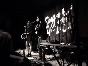 Sugar + The Hi Lows opening for Andrew Belle at the Brick & Mortar Music Hall, San Francisco, 9/17/2014.