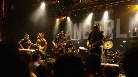Lakes opening for Anberlin at the House of Blues, Anaheim, 10/10/2014.