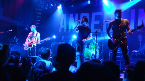 Anberlin performing their final farewell tour at the House of Blues, Anaheim, 10/10/2014.