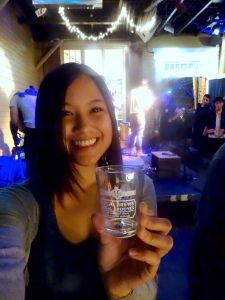 "Me enjoy the good vibes at ""Local Brews Local Grooves,"" 10/25/2014."