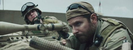 "Bradley Cooper stars as lethal U.S. sniper Chris Kyle in Clint Eastwood's ""American Sniper."""