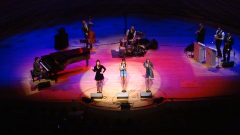 Postmodern Jukebox live at the Renee & Henry Segerstrom Concert Hall, Costa Mesa, CA. 1/23/2015.
