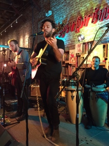 Andrew Heringer, Graham Fink and Curtis Marrero live at Fingerprints Music. 1/27/2015.