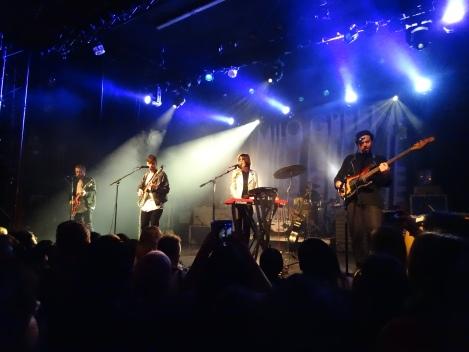 Milo Greene live at the El Rey Theatre, Los Angeles, CA. 2/19/2015.