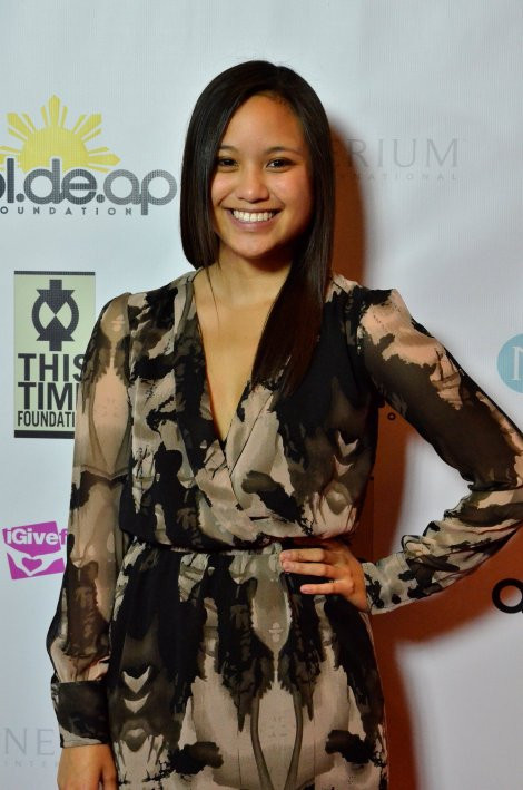 """Me at red carpet press event for the Apl.de.Ap """"Time For Hope"""" Foundation Gala. BakitWhy. 5/2013."""