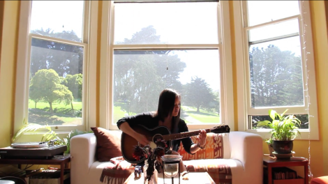 Me on the Old Guitar. Summer of 2013.