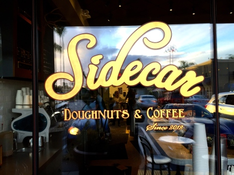 Sidecar Doughnuts & Coffee delivers fresh artisanal doughnuts and coffee to Orange County locals. Costa Mesa, CA.