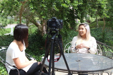 Maya Tuttle of The Colourist returned to her alma mater UC Irvine and reflected on her times as an anteater and pursuing music. Video/Photography by Gabriela Hernandez.
