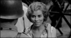 "Matthieu, one of three female bombers in ""The Battle of Algiers,"" Dir. Gillo Pontecorvo, 1966, France."