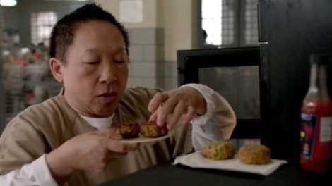 Mei Chang (Lori Tan Chinn) making food. Courtesy of Netflix.