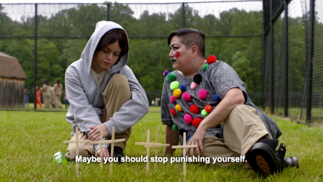 Pennsatucky (Taryn Manning) and Big Boo (Lea DeLaria). Courtesy of Netflix.