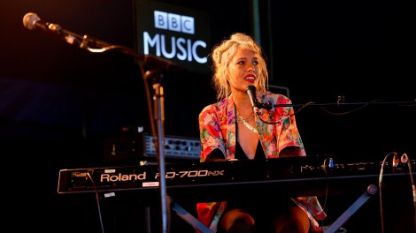 Kate Earl introduces EARL to BBC Radio 2 Live's Introducing Stage, Live in Hyde Park, London. 9/14/2015.