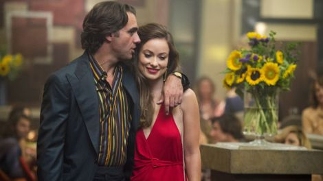 Olivia Wilde as Devon Finestra, wife to record label head Richie Finestra, played by Bobby Cannavale. | HBO.com