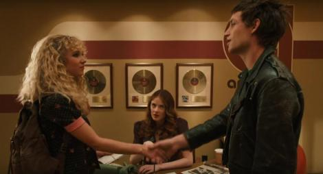 Juno Temple plays Jamie Vine, an ambitious young A&R assistant at American Century Records. | HBO.com
