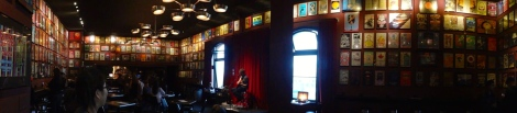 Photo taken at the upstairs lounge at the historic Fillmore Auditorium in San Francisco, CA.