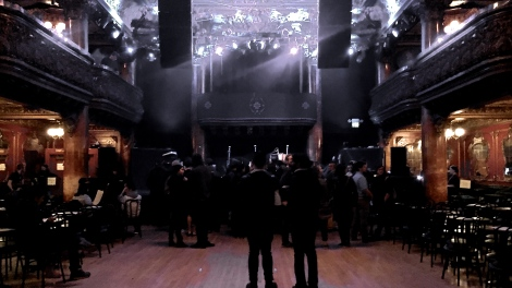 Picture taken at The Great American Music Hall in San Francisco, CA.