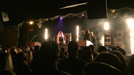 Wild Belle live at Bimbo's 365 Club in San Francisco, CA. 5/14/2016.