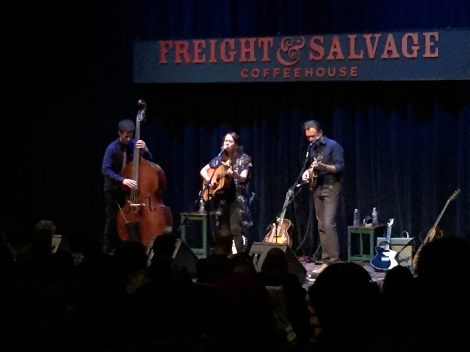 Sarah Jarosz live at the Freight & Salvage Coffeehouse in Berkeley, CA on Sunday, June 12.