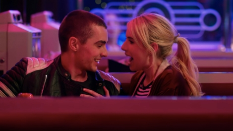 "Dave Franco and Emma Roberts as Ian and Venus in ""Nerve."""