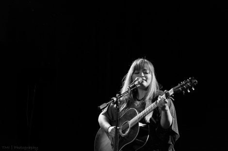 Melissa Polinar live at The Chapel, San Francisco, CA. 9/15/16. Photo courtesy of Tom Ide.