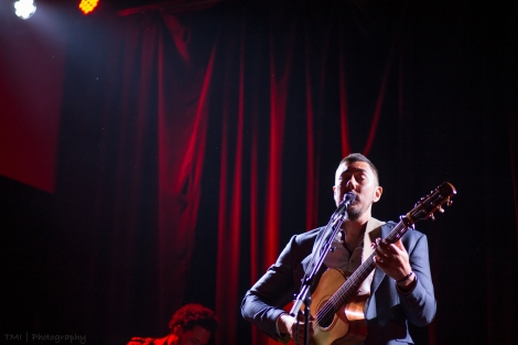 Justin Kawika Young live at The Chapel, San Francisco, CA. 9/15/16. Photo courtesy of Tom Ide.