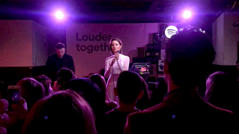 "Nina Nesbitt performed live at Spotify's ""Louder Together"" event at the Resident in Downtown Los Angeles, CA. 3/24/2018. (Photo: Rachel Ann Cauilan 
