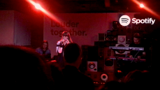 "Sasha Sloan performed live at Spotify's ""Louder Together"" event at the Resident in Downtown Los Angeles, CA. 3/24/2018. (Photo: Rachel Ann Cauilan 