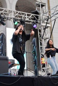Ruby Ibarra live at Identity LA in Grand Park, Los Angeles, CA. 5/12/2018. (Photo: Rachel Ann Cauilan | @rachelcansea)