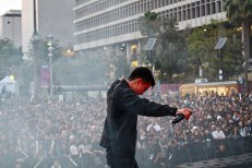 Hotel Garuda live at Identity LA in Grand Park, Los Angeles, CA 5/12/2018. (Photo: Iris Chu | Blurred Culture)