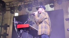 Mike Shinoda live at Identity LA in Grand Park, Los Angeles, CA. 5/12/2018. (Photo: Rachel Ann Cauilan | @rachelcansea)