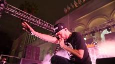 Mike Shinoda live at Identity LA in Grand Park, Los Angeles, CA. 5/12/2018. (Photo: Rachel Ann Cauilan | @rachelcansea)