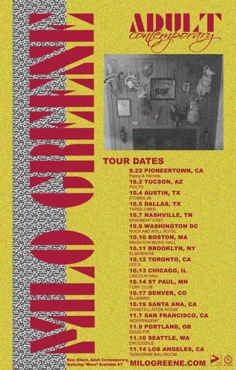 Milo Greene Tour Tickets & Info (http://bit.ly/adultcontemporarytour).