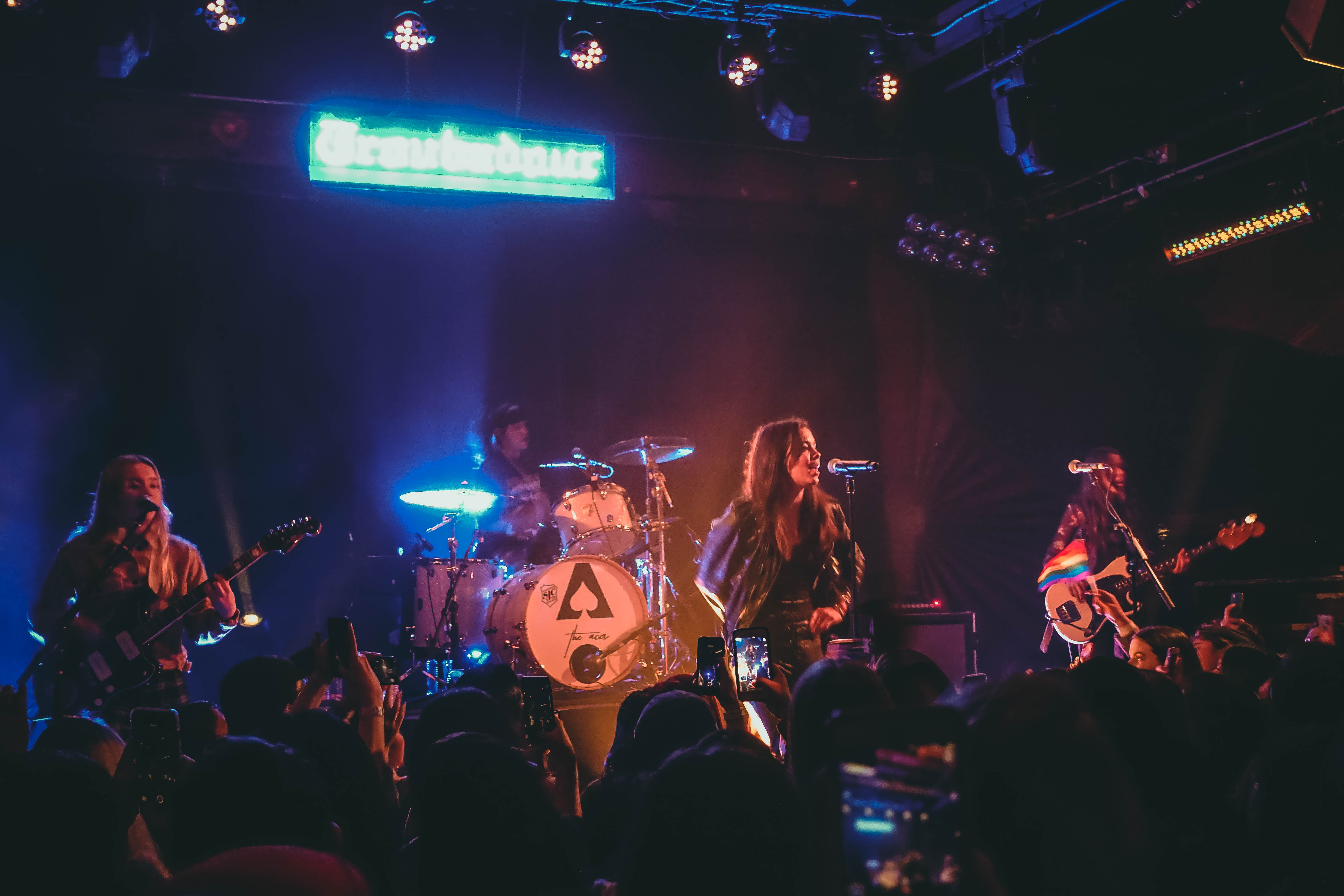 The Aces are your next best rock band, who just happen to be all