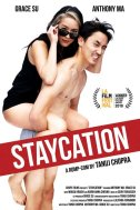 """""""Staycation"""" starring Anthony Ma and Grace Su, Dir. Tanuj Chopra, played at the Los Angeles Asian Pacific Film Festival on Sunday, May 5, 2019. (Photo: Chops Films)"""